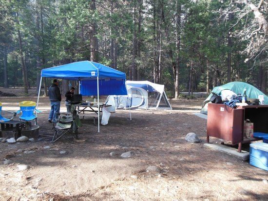 Upper Pines Campground: Upper Pines Site #113