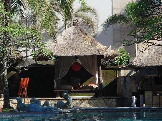 The Royal Beach Seminyak Bali - MGallery Collection: Main pool Cabana's