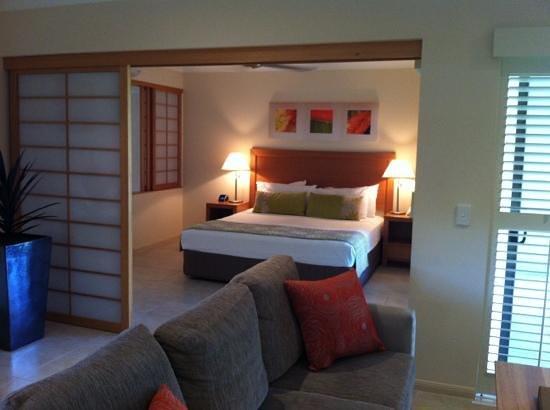 Shantara Resort  Port Douglas: Bedroom area