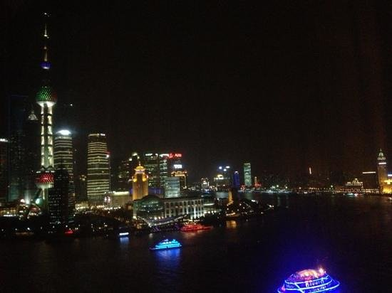 Hyatt on the Bund: most amazing night views
