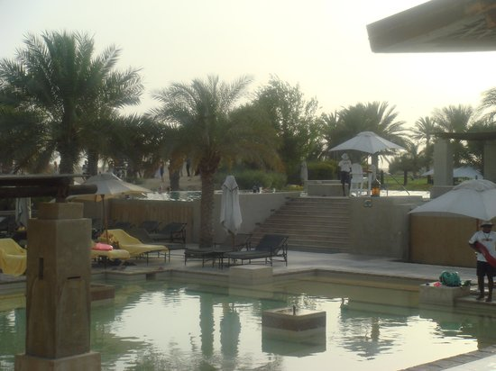 Bab Al Shams Desert Resort & Spa: the swimming area