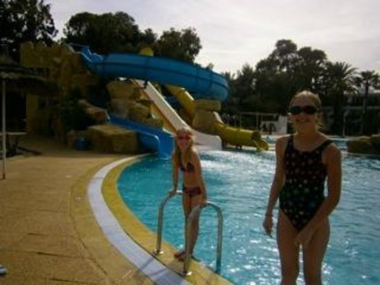 Marhaba Royal Salem: Slide pool