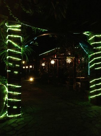 Hoi An Trails Resort: Resort lights