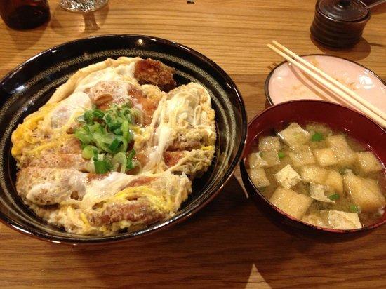 Toku Restaurant: chicken Katsudon