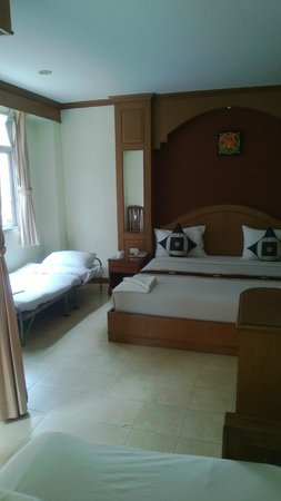 Siam Hotel: Extra single bed in Family room