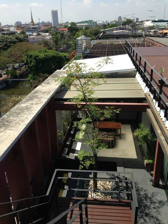 Loog Choob Homestay: Seen from the roof terrace