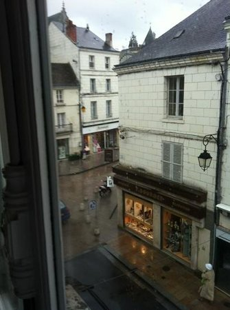 Hotel de France : view from room 25