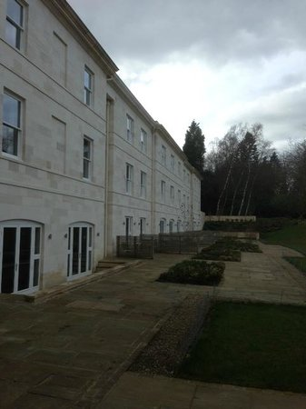 Rudding Park Hotel: View from the bedroom window