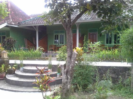Hotel Angsoka: Outside of Bungalows