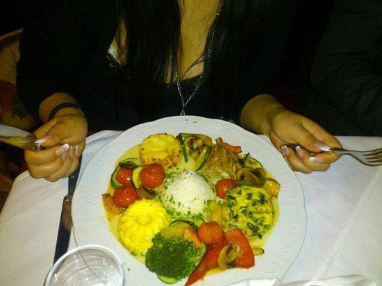 Piaristenkeller: Vegetarische Hauptspeise