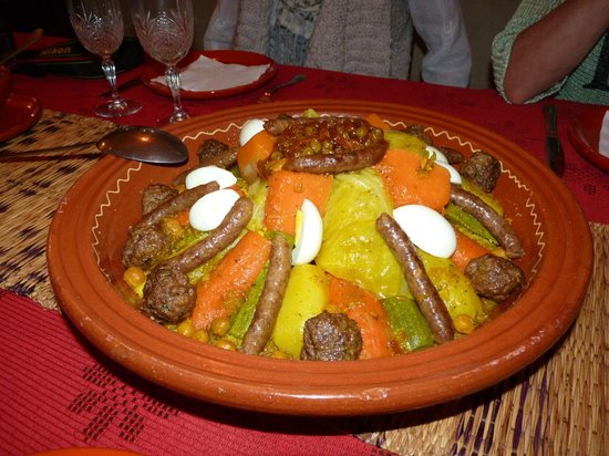 Dar Amanza: Le couscous de Mariam HUMMMM !!!