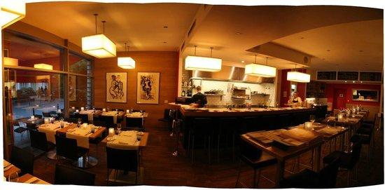 Poisson: Restaurant Innenansicht