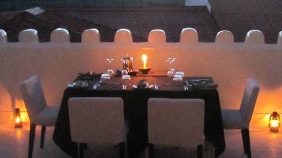 Only One Table For A Special Evening Picture Of Mashariki Palace - Oen table