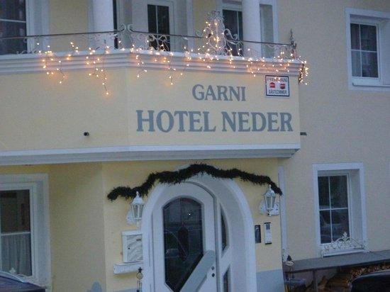 Hotel Garni Neder: Hotel exterior Neder