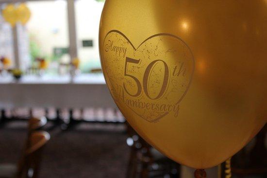 Beambridge Inn: Golden wedding celebration