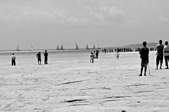 Peponi Hotel Restaurant : Boat racing New year day