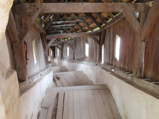 Biertan Fortified Church: The covered staircase