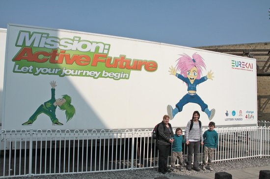 Eureka! The National Children's Museum: Arrived at last