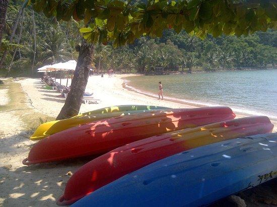 Mercure Koh Chang Hideaway Hotel: The beach
