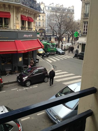 Hotel Bastille Speria : View from my room