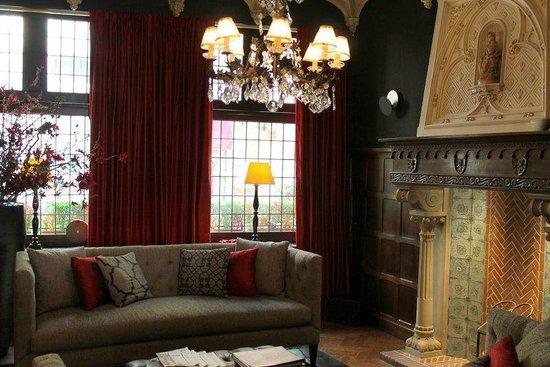 Hotel Prinsenhof Bruges: Hotel Prinsenhof lobby