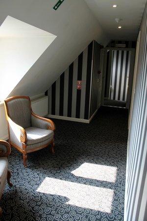 Hotel Prinsenhof Bruges: hall view