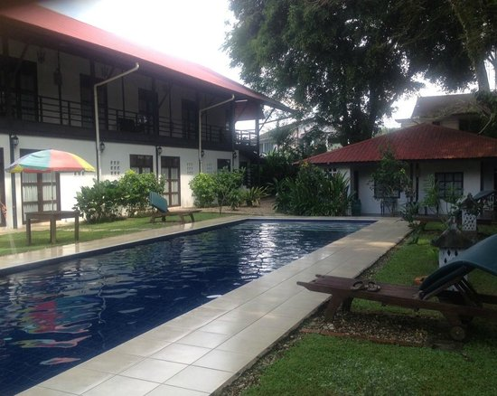 Basaga Holiday Residences: View of accommodation from pool area