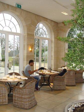 Rudding Park Hotel: Lovely setting for breakfast