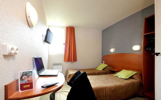 Hotel balladins Tours Nord: Chambre 2 lits simples