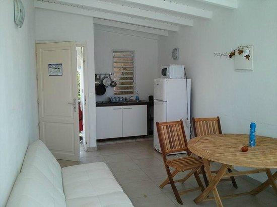 Coco Beach Resort: Terrasse couverte salle à manger