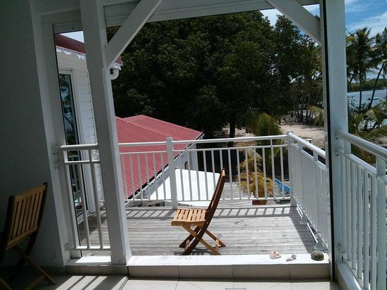 Coco Beach Resort: Aute vue de la terrasse