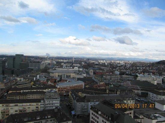Swissotel Zurich: View from my room