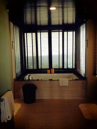 Gaya Island Resort: A bath large enough for two!
