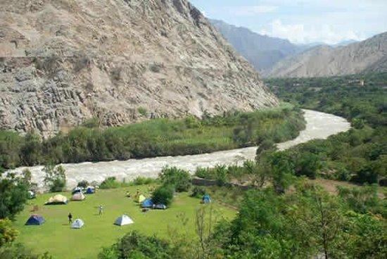 Rio Lunahuana Peru South America Address Body Of