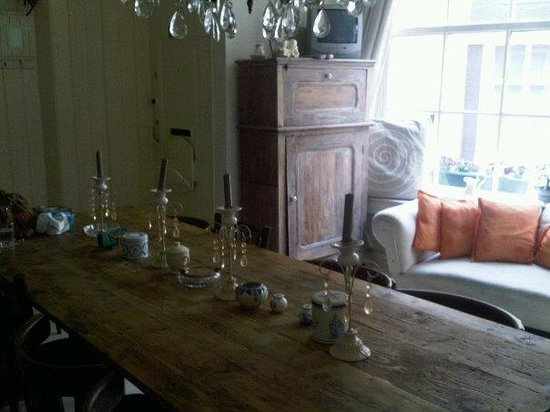 Amsterdam At Home : dinning area
