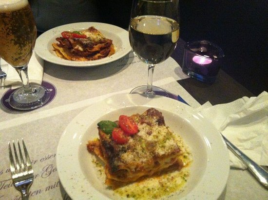 Ristorante Caffe Bocconi: Delicious main course...