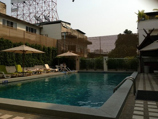 Dusit Princess Chiang Mai: Pool Area