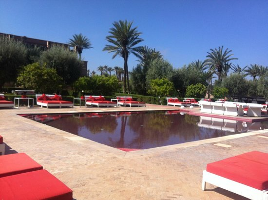 Murano Resort Marrakech: Piscine principale