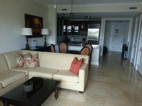 Key West Marriott Beachside Hotel: Sehr großer Wohnbereich