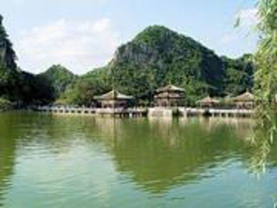 Zhenshan Mountain of Zhaoqing Foto