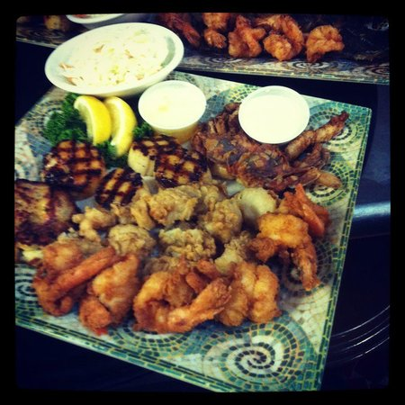 Twin Lakes By The Sea: Seafood Platter