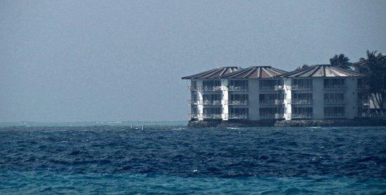 Royal Decameron Aquarium: Hotel from the ocean