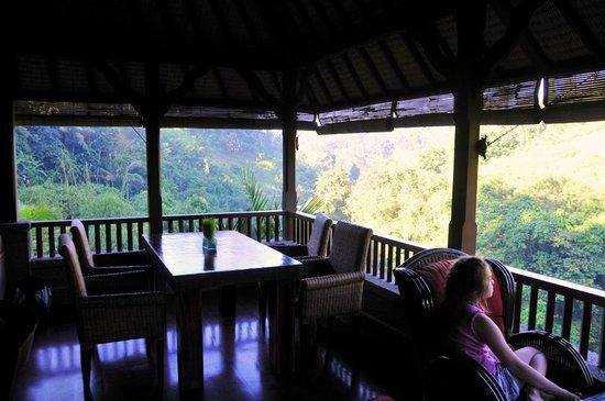 Bidadari Private Villas & Retreat: open air lounge