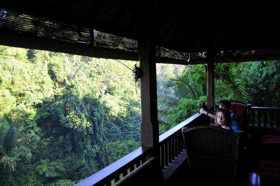 Bidadari Private Villas & Retreat: open air lounge 2