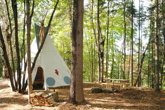 Chimo Refuges : Teepee, very comfy
