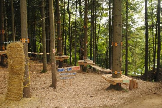 Chimo Refuges : Obstacle course for kids