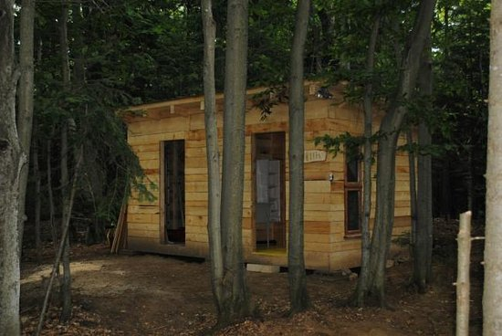 Chimo Refuges : The toilet and shower building