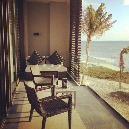 NIZUC Resort and Spa: ocean suite balcony