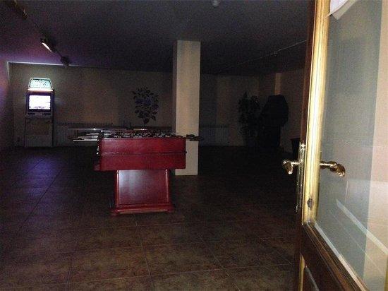 Neilson Hotel Del Clos : ambiente tenebroso, sala de juegos...
