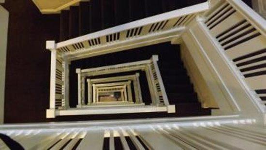 Hotel Vertigo: the stairs